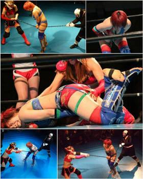 Asuka got chain between her legs