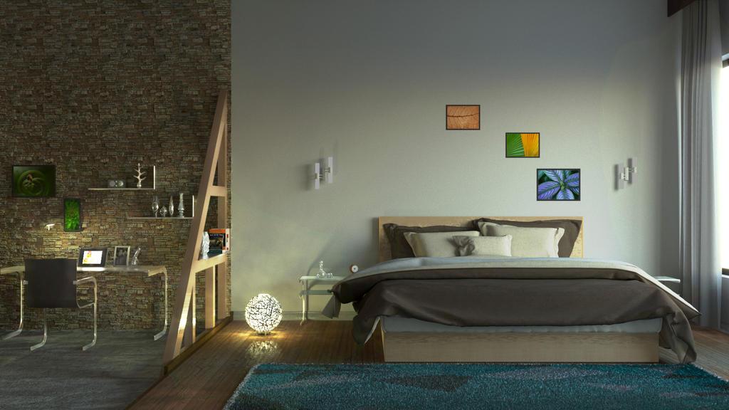 Interior Bedroom 3Ds Max Corona Render by Nik-Ants on DeviantArt