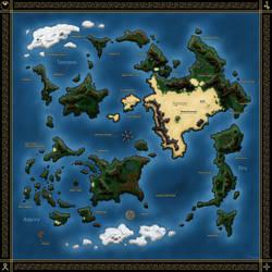 Xenogears World Map v.3