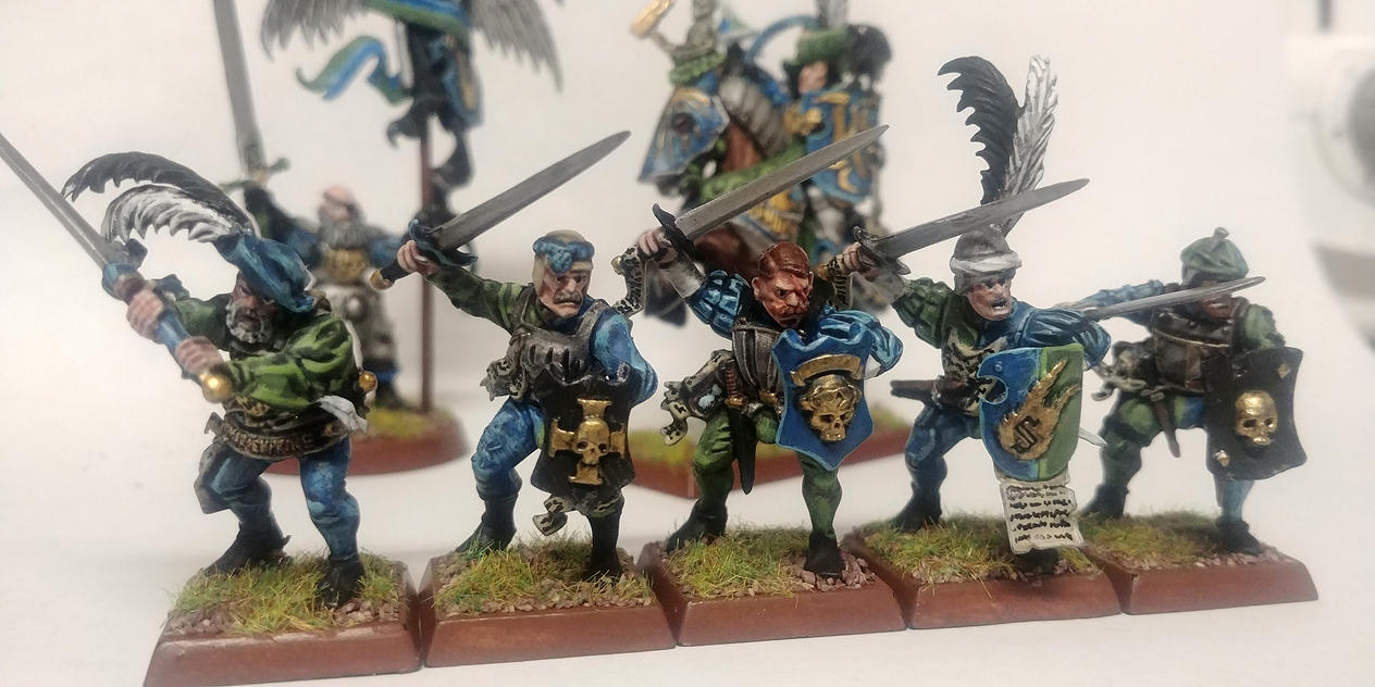 Freeguild Guard First Five by Sub-Thermal