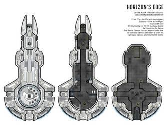 Horizon's Edge Starship