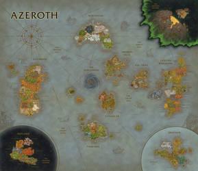 World of Warcraft Map Composition (BfA Update)