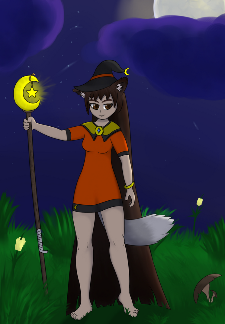 Wolfy Witch by calem28