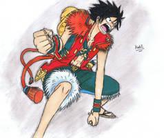 Luffy by blazekid7