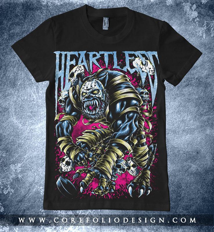 Heartless - zombie werewolf by corefolio