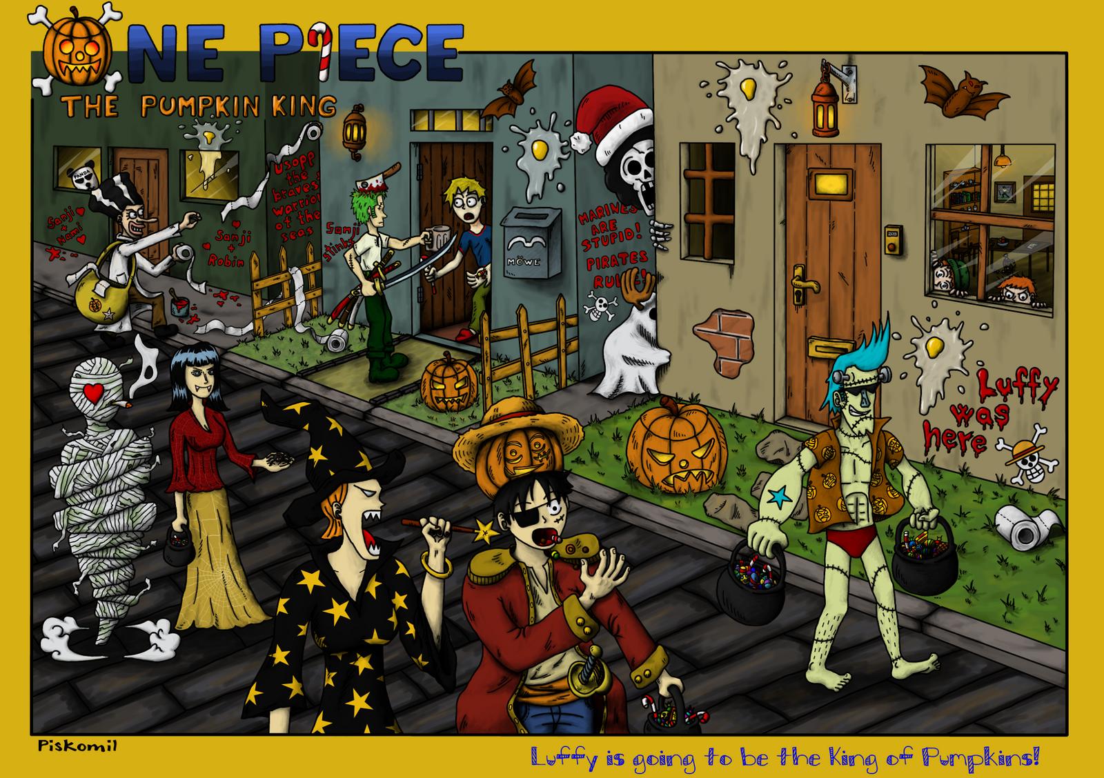 OP Halloween by piskomil