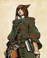 Final Fantasy XIV:ARR Arcanist by AllTimeEmma
