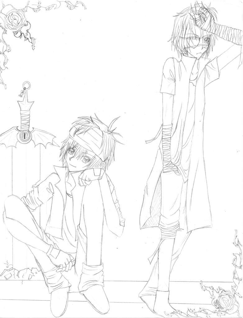 The gallery for --> Anime Girl With Katana Base