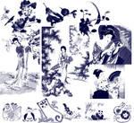 Japanese watercolor