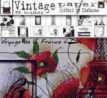 Vintage Paper by Diamara