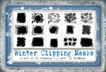 Winter Clipping Masks