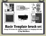 Basic Template brush set