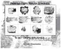 Painted Maps by Diamara
