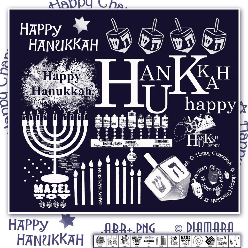 Happy Hanukkah by Diamara