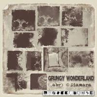 Grungy Wonderland by Diamara