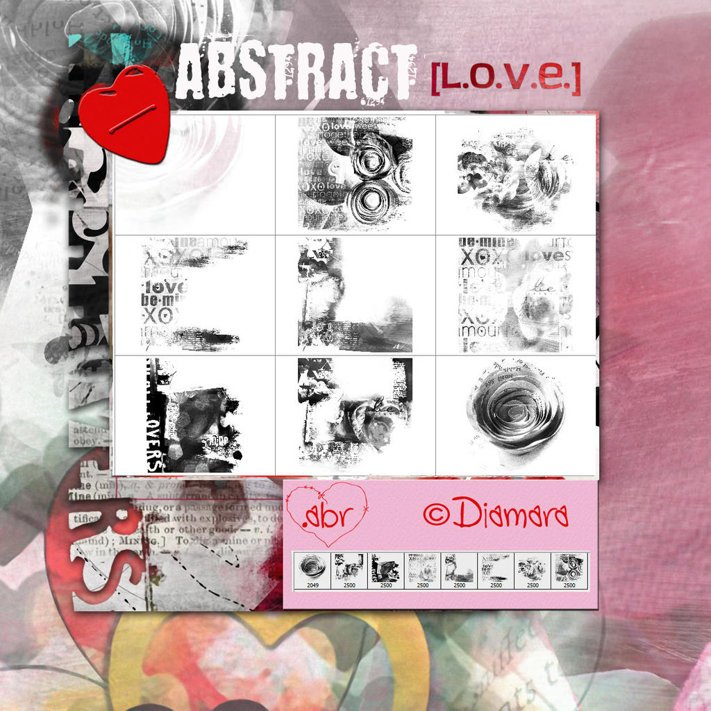 Abstract Love by Diamara