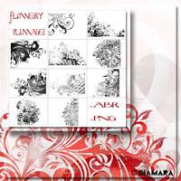 Flowery Plumage by Diamara