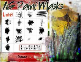 16 PaintMasks by Diamara