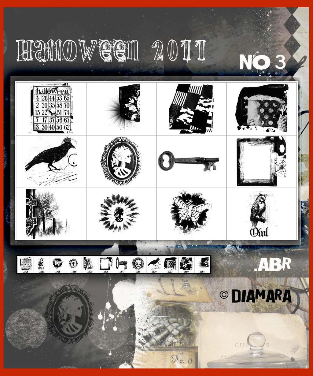 Halloween2011 ArtBrushes by Diamara