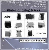 WinterMagicClippingMasks by Diamara