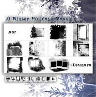 WinterHolidaysClippingMasks by Diamara