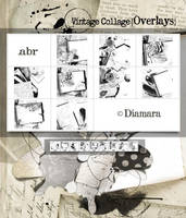 VintageCollageOverlays by Diamara