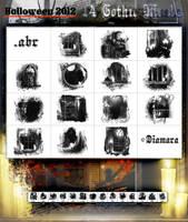 14 Gothic Masks Halloween 2012 by Diamara