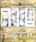 Vintage Travel Overlays