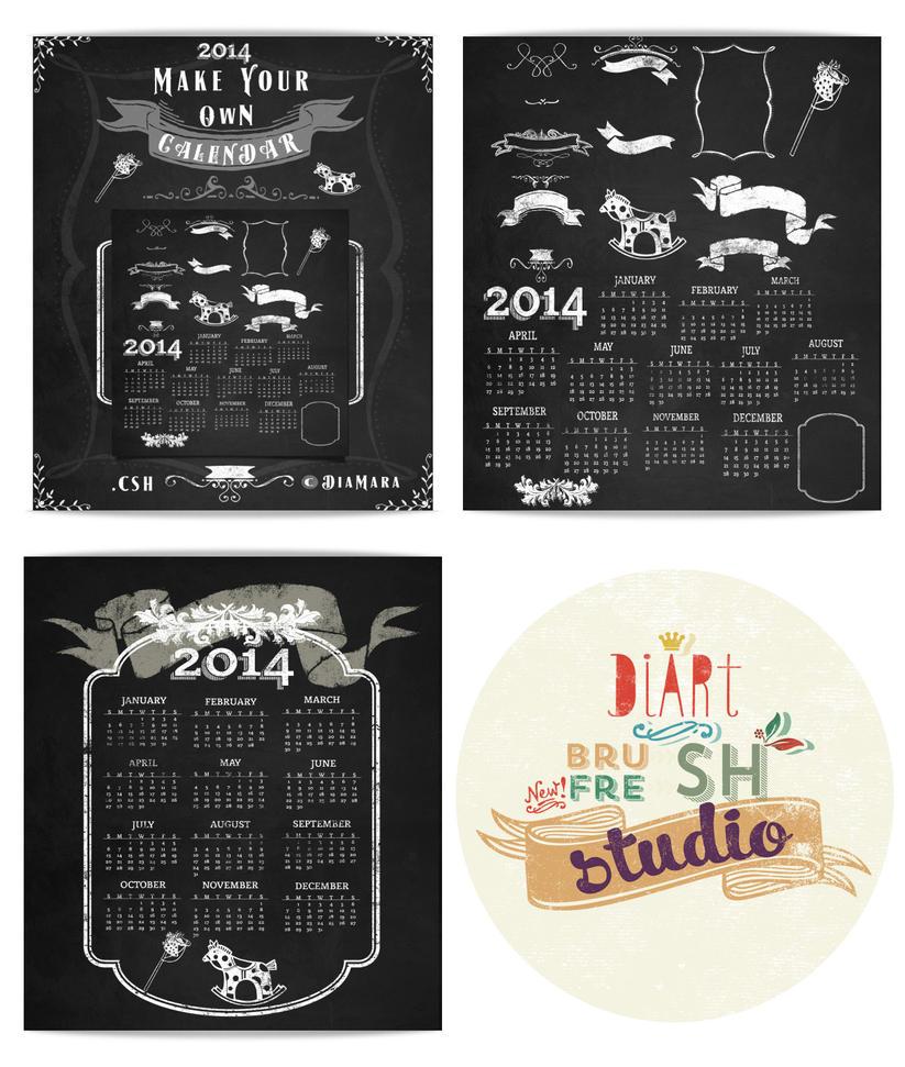 Design Your Own Calendar : Create your own calendar by diamara on deviantart