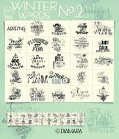 Winter Words No.2 by Diamara