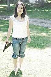 No shoes Hannah by angelsfalldown1