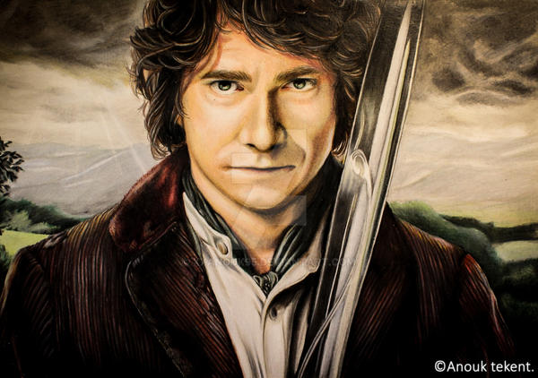 How does Bilbo's character change over the course of The Hobbit?