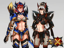 Monster Hunter X- or Generations by Charleian