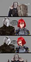 Dark Souls Tropes: Shield Language
