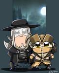 Random Bloodborne: Hunter Team Epic