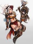 Commission: Monster Hunter World O.C. Mabel