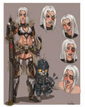 Commission- M.H.W. O.C.: Unnamed Hunter.