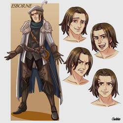 Commission- Original Characters: Esborne