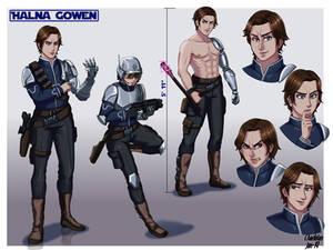 Commission- Original Character: Halna