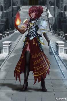 Commission- Dark Souls Original Character.