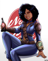 Commission-Fallout 4:  O.C. Kaitlyn