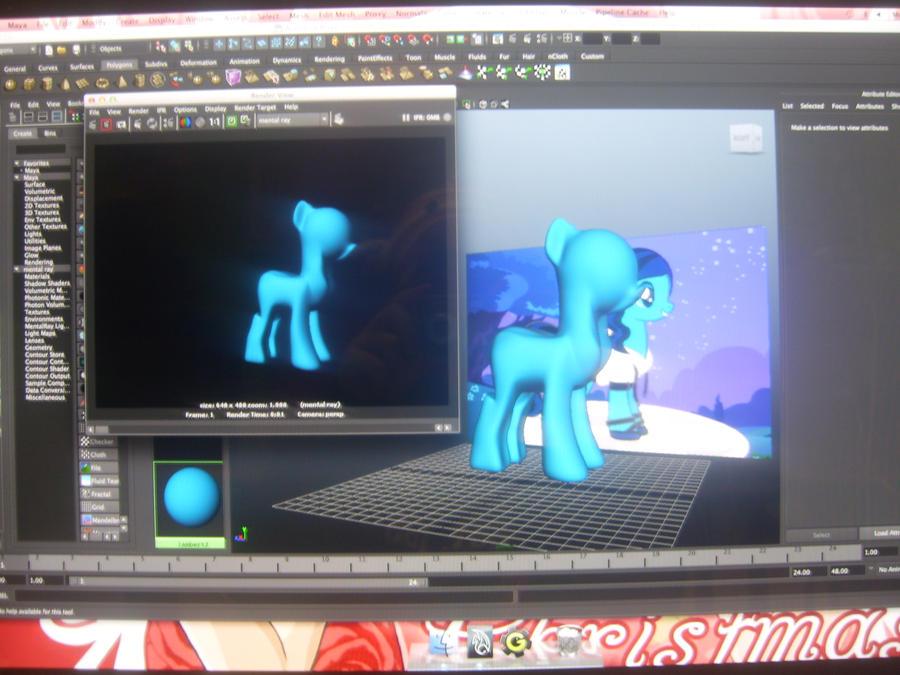 3d Animation Ii My Little Pony Project 1 By Hikarirose94