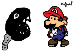 Mario Tries To Pass V2.2 by MiguelAntoo