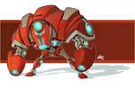 Robo Attack Drone Color Version