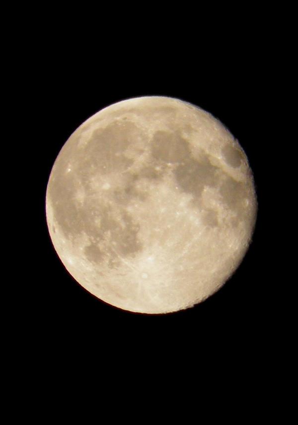 On the moon again by Darkatinka