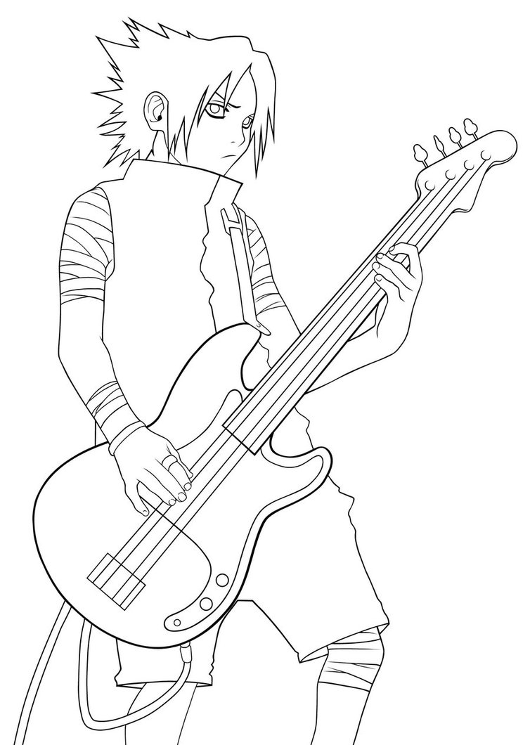 guitar hero coloring pages - photo#24