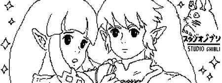 Zelda and Link - The legend of zelda - 2 by Link130890