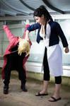 Edward and Izumi - Fullmetal Alchemist Brotherhood