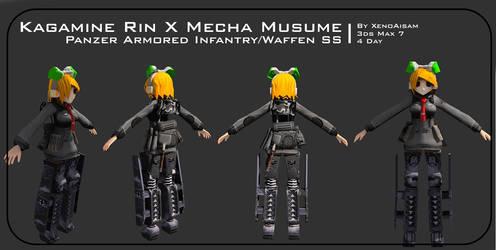 Kagamine Rin X Mecha Musume