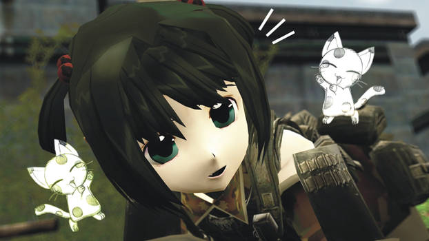 Bring Cuteness to military